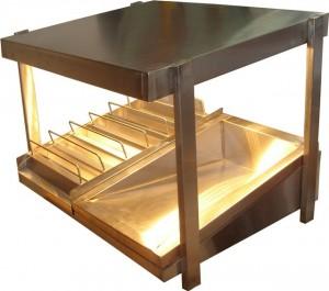 شوتینگ سیب زمینی رومیزی-تجهیزات فست فود